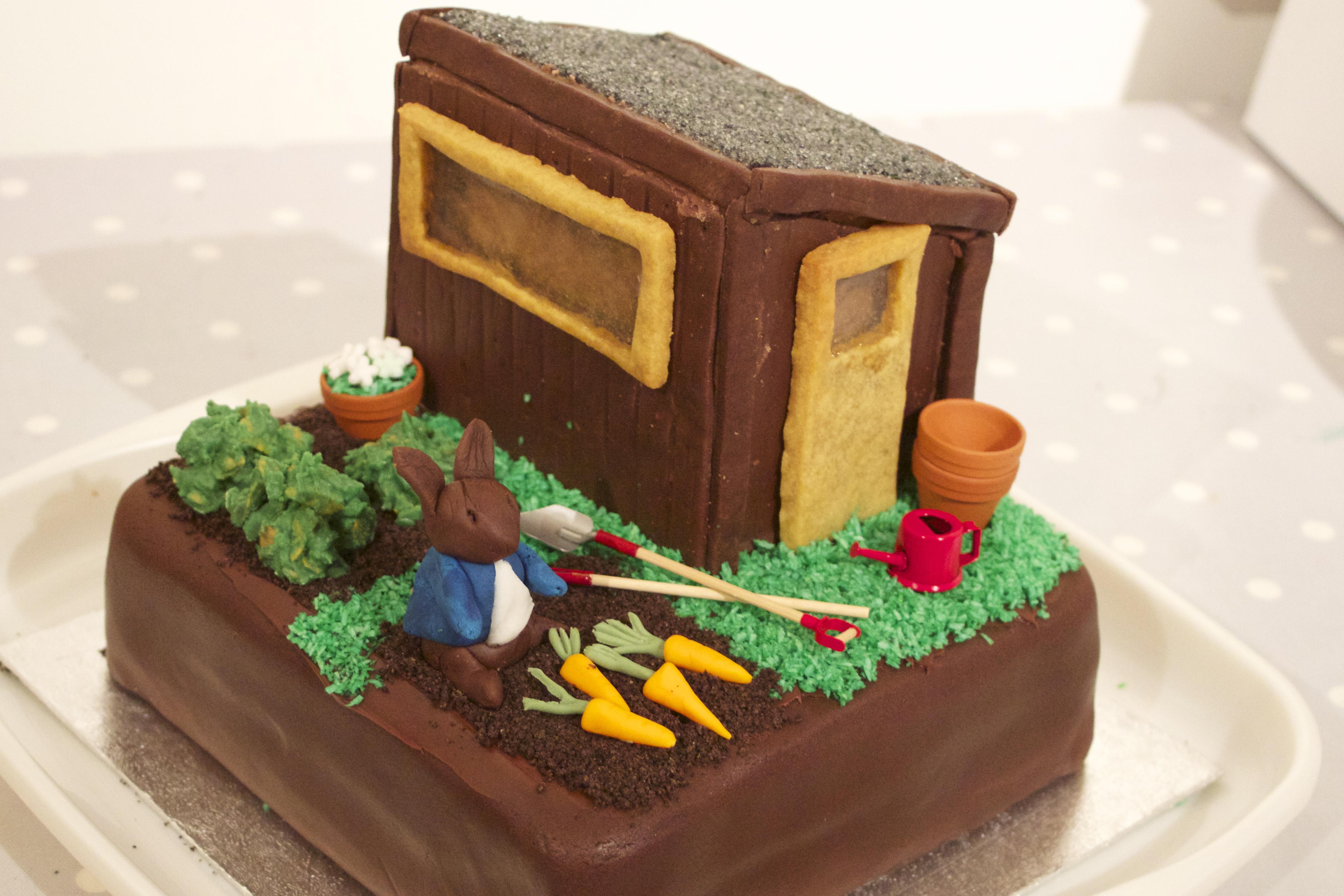 Rabbit Birthday Cake Asda