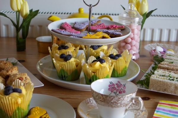 Afternoon Tea for Granny Mook & Lulu for Mother's Day